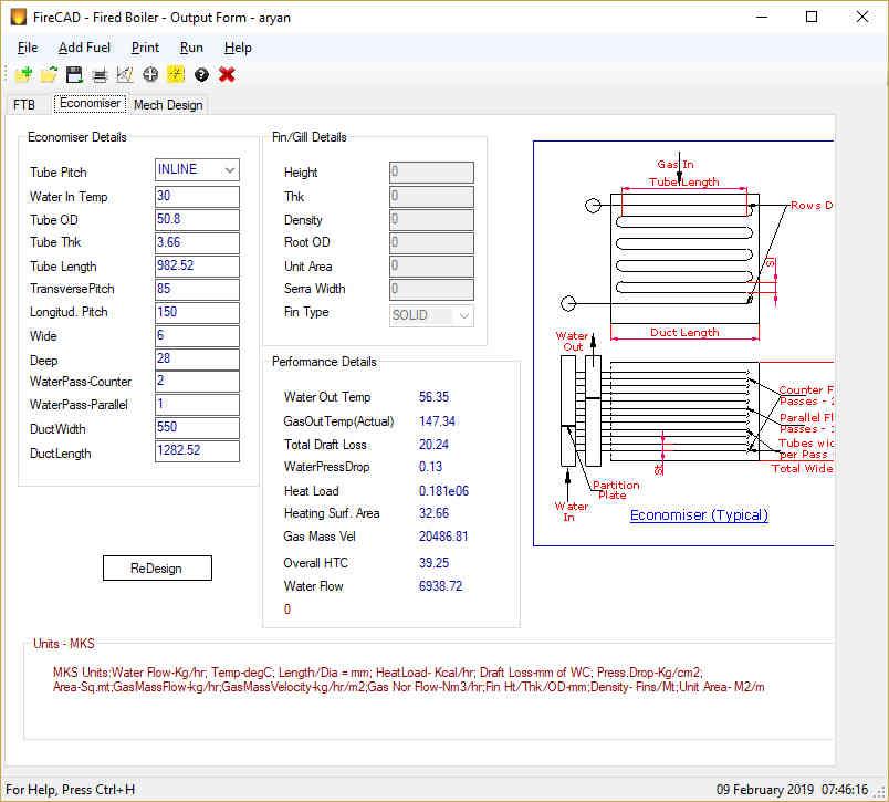 Fire-Tube-Boiler-Design-Software - FireCAD Technologies : Boiler
